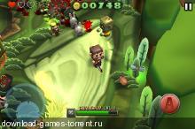 Minigore 2: Zombies [1.0, Экшн, iOS 4.3, ENG]